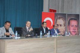 Başkan Vekili Epcim, spor camiasıyla bir araya geldi