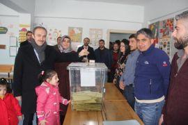 Hakkari'de oy kullanma işlemi sone erdi