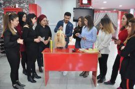 Hakkari'deki kuaförlere saç tasarım eğitimi