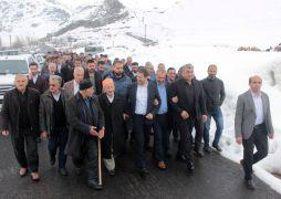 AK Parti'den Durankaya beldesine teşekkür ziyareti
