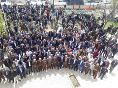 AK Parti'li Çetinkaya 35 keçi kestirerek 4 bin kişiyi misafir etti