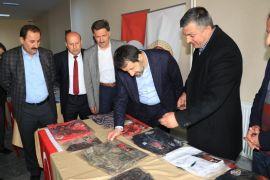 Başkan Gür, 205 şehidin emanetleri sergisini ziyaret etti