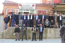 Başkan Kahraman Şemdinli'de