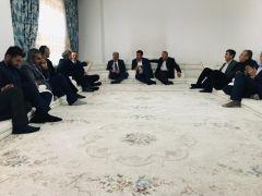 Başkan Saklı'dan Şehit Ahmet Budak'ın ailesine ziyaret