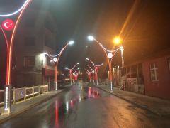 Çukurca Belediyesinden aydınlatma çalışması