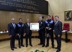 Hakkâri il Emniyet Müdürlüğü 'Kurul Özel Ödülü'ne layık görüldü