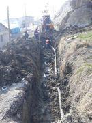 Hakkari'de içme suyu şebekesi hatlarında onarım çalışması