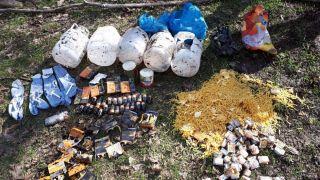 Hakkari'de terör operasyonu, sığınaklar tespit edildi