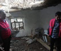 Hakkari Kızılay'dan afetzedelere destek