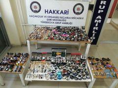 Hakkari il genelinde kaçakçılık operasyonu