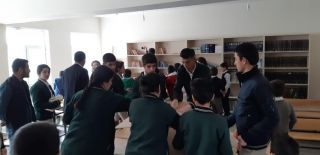 İran sınırındaki Güvenli köyüne 500 kitap desteği