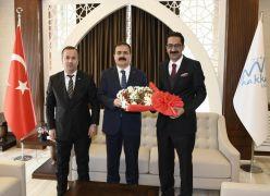 Turizm sektörü temsilcilerinden Vali Akbıyık'a ziyaret