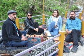 Vatandaşlar piknik alanlarına akın etti