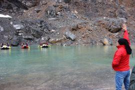Zap Suyunda Rafting Şampiyonasına hazırlanıyorlar