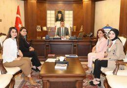 Dernek başkanlarından Vali Akbıyık'a ziyaret
