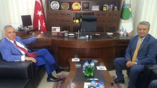 Gazeteci Yavuz Donat'tan HATSO'ya ziyaret