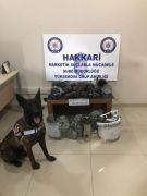Hakkari'de 16 kilogram uyuşturucu ele geçirildi