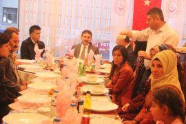 Hakkari'de koruyucu ailelere iftar yemeği