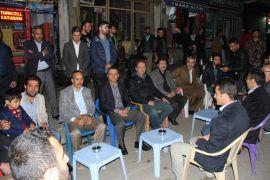 Kaymakam Türkman ve Başkan Saklı vatandaşlarla bir araya geldi