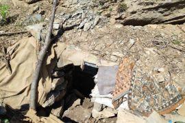 Yüksekova'da PKK'nın mühimmat deposu ele geçirildi
