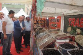 Başkan Er, Anadolu Kervanı Yöresel Ürünler Fuarını ziyaret etti