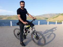 Bisiklet tutkunlarından Dilimli Barajı'na büyük ilgi