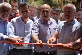 Çukurca'da iki iş yeri hizmete açıldı