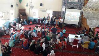Hakkari'deki camiler çocuk sesleriyle şenlendi
