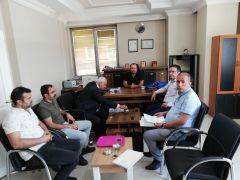 Hakkari İŞKUR ve SGK'dan teşvik ziyaretleri