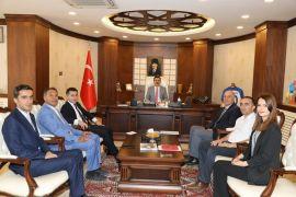 Mikro Kredi Diyarbakır Bölge Müdürü Taş'tan Vali Akbıyık'a ziyaret