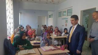 Vali Yardımcısı Pala'dan Kur'an kurslarına ziyaret