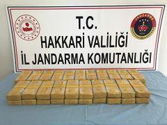 Yüksekova'da 21 kilo 138 gram eroin ele geçirildi