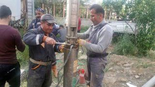 Yüksekova'da arızalanan su sondajı onarıldı