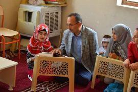 Başkan Saklı'dan Kur'an kurslarına ziyaret