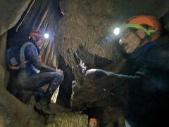CİSAD üyelerinden mağarada keşif çalışması