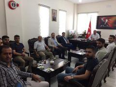 Iraklı turizmcilerden Başkan Dündar'a ziyaret