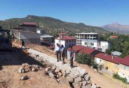 Başkan Dündar park yapımını yerinde inceledi