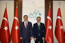 Başsavcı Çınar'dan Vali Akbıyık'a iade-i ziyaret