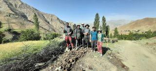 Cilo Trekking Clup, Pinyanşi bölgesini gezdiler