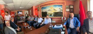 Durankaya heyetinden Başkan Er'e ziyaret