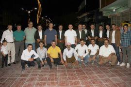 Kaymakam Türkman, halay ekibiyle bir araya geldi