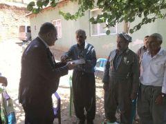 Müdür Kaya'dan şehit ailelerine ziyaret