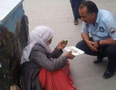Hakkari Belediyesinden dilencilere yönelik çalışma