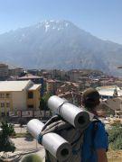 Mardinli gezgin, 63 il ve 5 ülkeyi otostopla gezdi