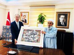 Şehit Kaymakam Safitürk'ün babası Asım Safitürk'ün Yüksekova ve Esendere ziyareti