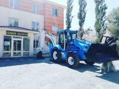 (Yeniden) Bakanlıktan Esendere Belediyesine 1 adet iş makinesi hibe edildi