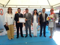 Yüksekovalı Demirel Türkiye üçüncüsü oldu