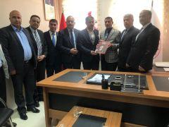 AK Parti heyetinden Başkan Adıyaman'a ziyaret