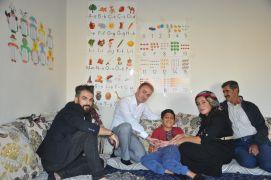 Başkan Aydoğdu'dan özel gereksinimli İsmail'e ziyaret