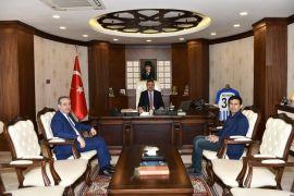 Bölge Müdürü Kayatürk'ten Vali Akbıyık'a ziyaret